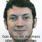 Head shot of James Holmes, who bought guns legally then killed 12 people in Aurora movie theater